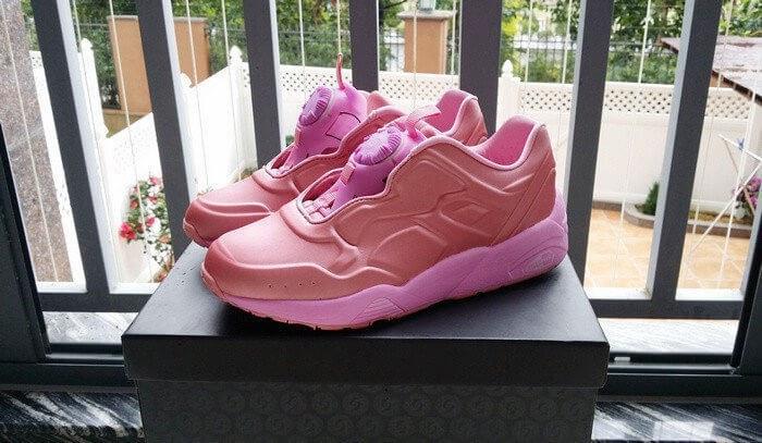 Оригинальные кроссовки женские Puma Disc Blaze Pink