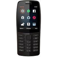 Мобильный телефон Nokia 210 Dual Sim 2019 Black (16OTRB01A02)