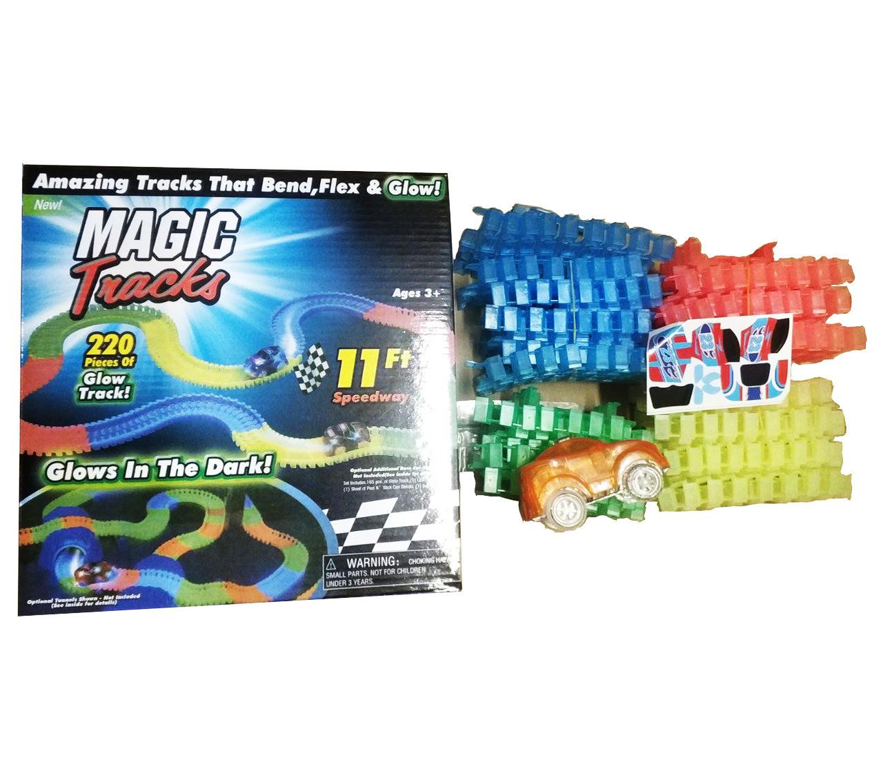 Гоночний трек Magic Tracks 220 деталей