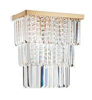 Настенный светильник Ideal Lux MARTINEZ AP3 ORO (213545)