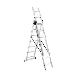 Лестница алюминиева универсальная Dnipro-M CL-307 413 см