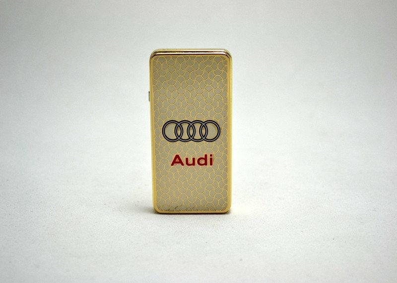 Зажигалка электроимпульсная в подарочной коробке USB AUDI