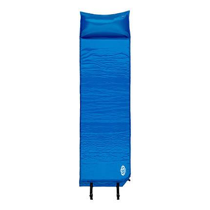 Самонадувающийся коврик Nils Camp NC4347 184.5 x 53 x 3 см Blue, фото 2