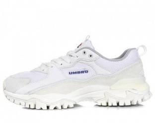 Оригинальные кроссовки мужские Umbro Bumpy Sneakers White