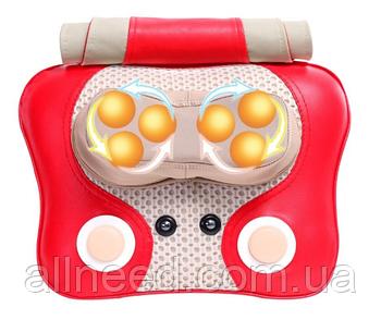 Массажная подушка 3D Massage machine Массажер для спины, шеи, ног