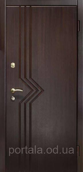 """Вхідні металеві двері """"Портала"""" для квартири (серія Комфорт) ― модель Бриз"""