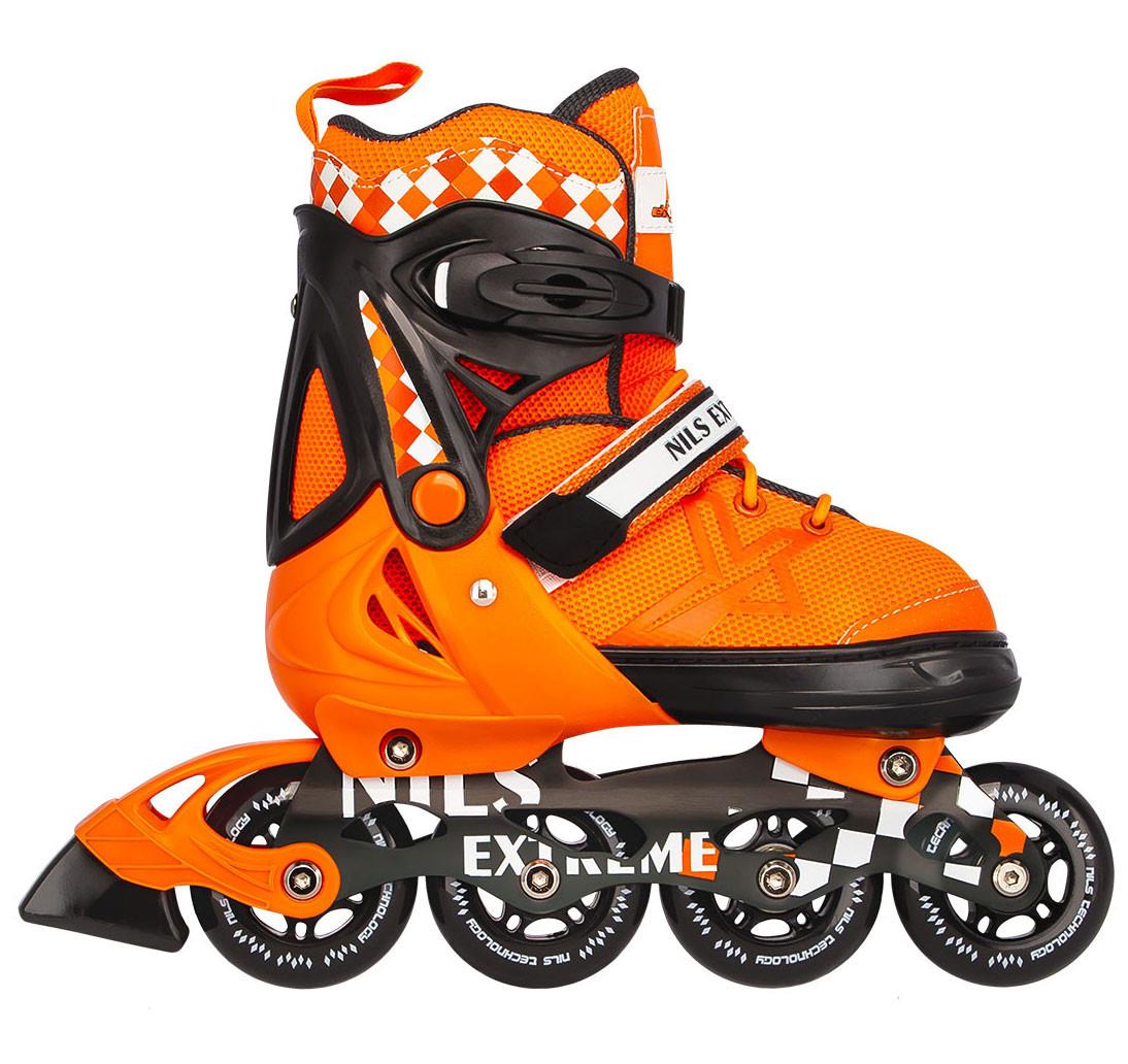 Роликовые коньки Nils Extreme NA13911A Size 31-34 Orange