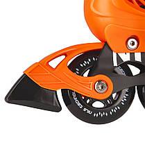 Роликовые коньки Nils Extreme NA13911A Size 31-34 Orange, фото 2
