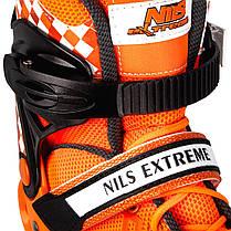 Роликовые коньки Nils Extreme NA13911A Size 31-34 Orange, фото 3