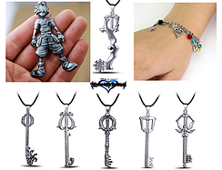Бижутерия Королевство Сердец Kingdom Hearts