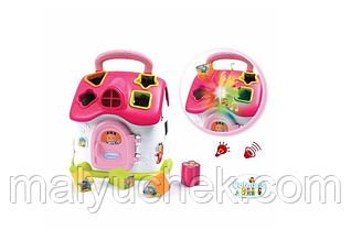 Інтерактивний рожевий сортер котедж SMOBY Cotoons 110401_R