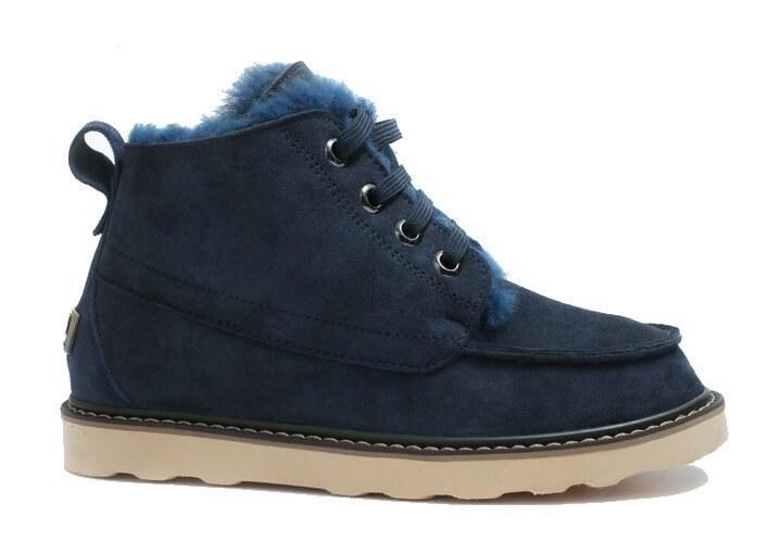 Оригинальные ботинки мужские UGG DAVID BECKHAM BOOT NAVY