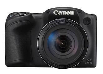 Фотоаппарат Canon Powershot SX430 IS Black (1790C011)