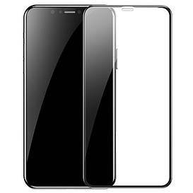 Защитное стекло 3D 9H (full glue) (без упаковки) для Apple iPhone XR / 11