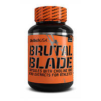 Жиросжигатель BioTech Brutal Blade, 120 капсул