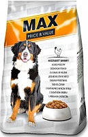 Сухой Корм для собак MAX Макс с Птицей 10 кг