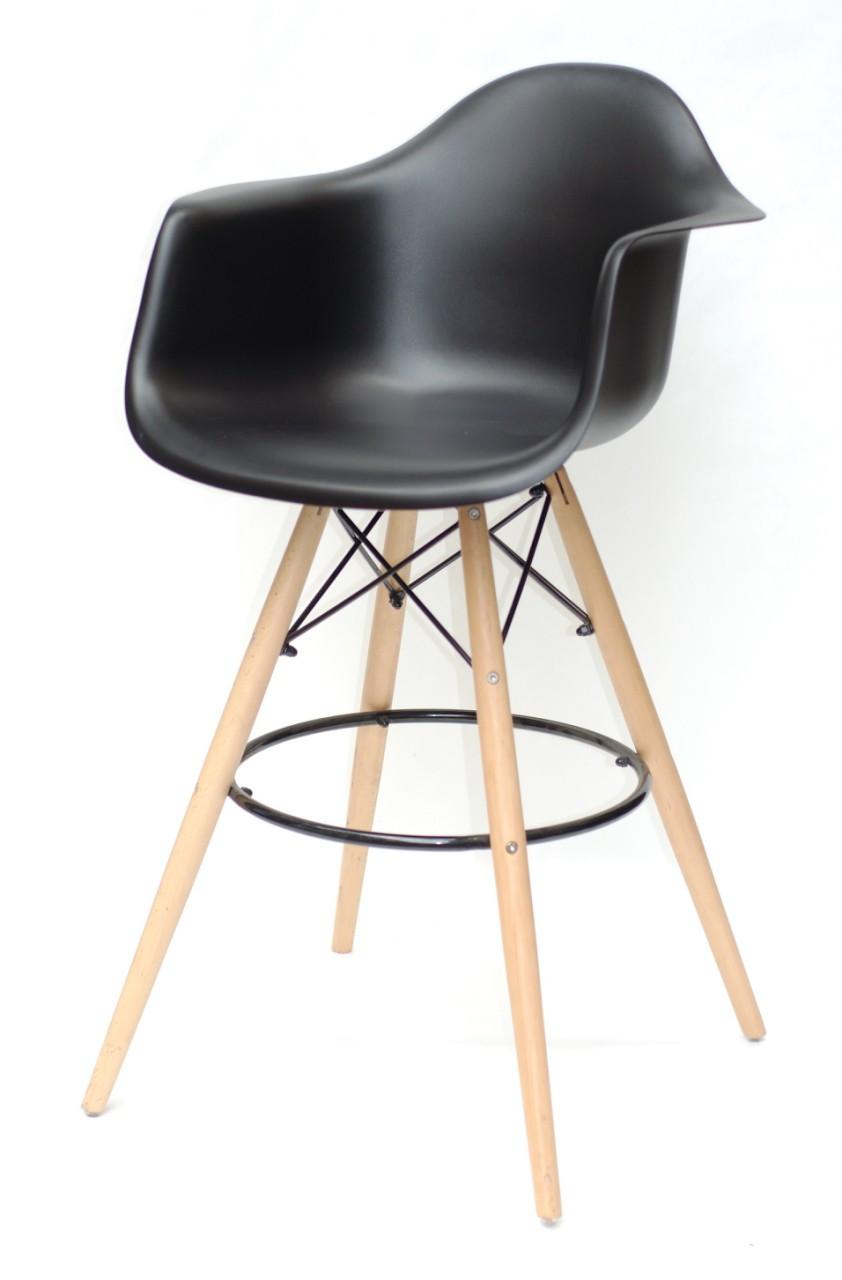Барне крісло Leon, чорне