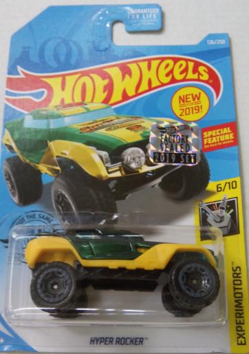 Машинка Hot Wheels 2019 Hyper Rocker