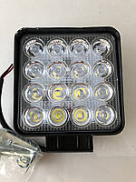 Светодиодная LED фара рабочая 48W/60° 48Вт,(3Вт*16ламп)