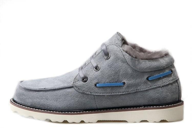 Оригинальные ботинки мужские UGG DAVID BECKHAM LACE BOOT GREY