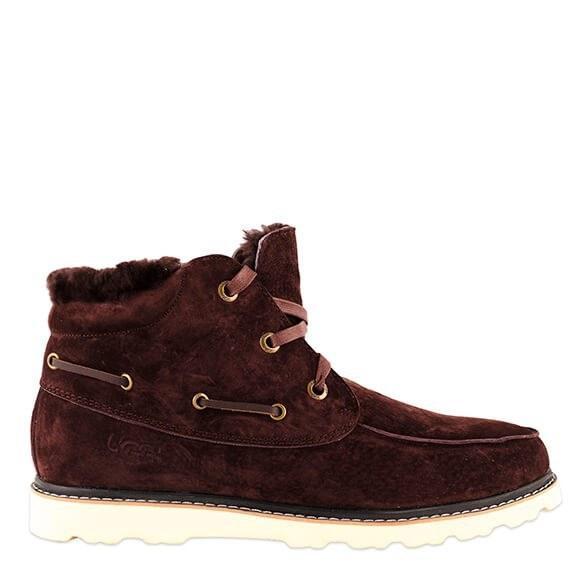 Оригинальные ботинки мужские UGG DAVID BECKHAM LACE BOOT BROWN