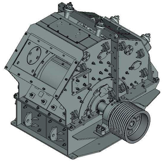 Дробилка роторная ДРК-16х12 крупного дробления