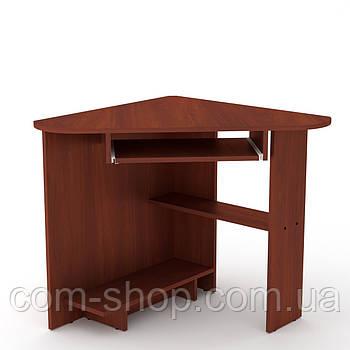 Стол письменный СУ-15 яблоня  (76х76х74 см)