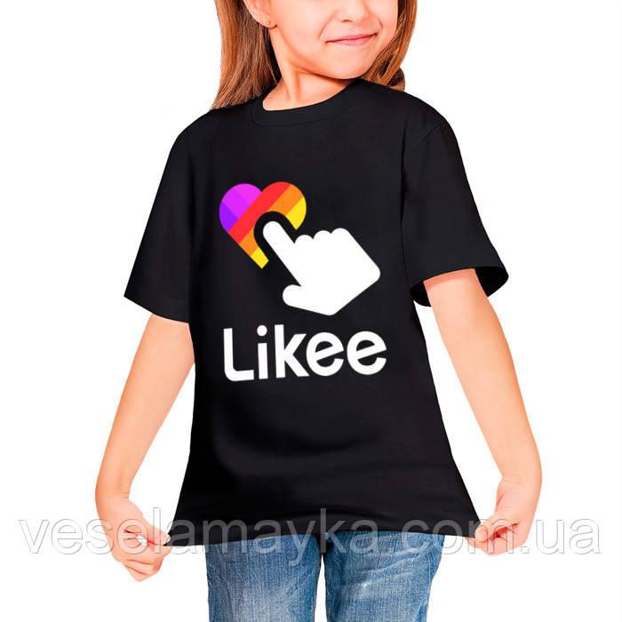 Детская футболка Likee 7
