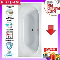 Прямокутна акрилова ванна 170x80 см Devit Soul 17080149, фото 1