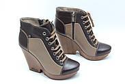 Осінні шкіряні черевики Guero 34-250-5-4, фото 2
