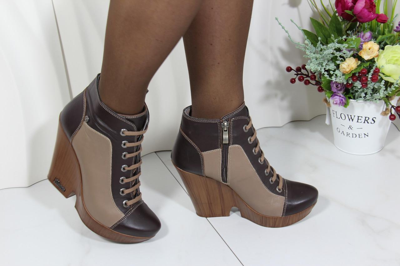 Осінні шкіряні черевики Guero 34-250-5-4