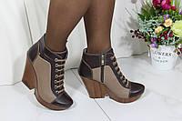 Осенние кожаные ботинки Guero 34-250-5-4