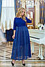 Платье / трикотаж, сетка / Украина 40-01170