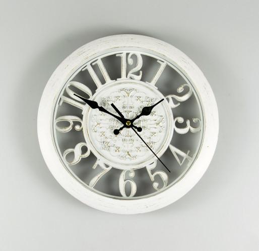 Часы настенные 28 см 068/white белые часы на стену