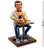 Статуэтка Guillermo Forchino Мистер Покерфейс 32 см 1905286