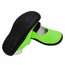 Обувь для пляжа и кораллов (аквашузы) SportVida SV-DN0010-R27 Size 27 Green, фото 3