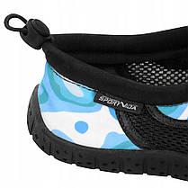 Обувь для пляжа и кораллов (аквашузы) SportVida SV-DN0011-R36 Size 36 Blue/White, фото 2