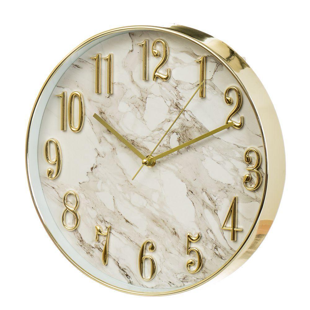 Часы настенные Veronese Мраморный 30 см 12003-021 часы на стену классические