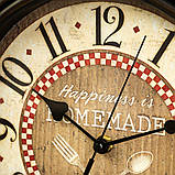 Часы настенные Veronese Кухня 30 см 12003-001 часы на стену, фото 3