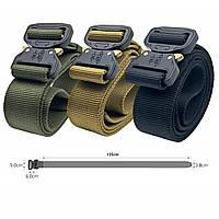 Ремень Кобра тактический брючный, мягкий. Пряжка Cobra, суперпрочный 40мм.