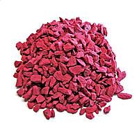 Минеральный декоративный наполнитель 300гр красный