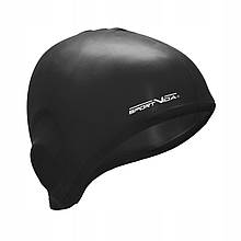 Шапочка для плавання SportVida SV-DN0015 Black