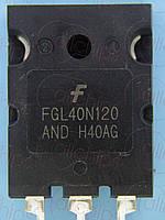 IGBT NPN 1200В 64А Fairchild FGL40N120ANDTU TO264
