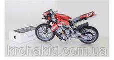 """Конструктор Decool 3353 """"Мотоцикл"""", 431 дет, фото 3"""
