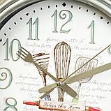 Часы настенные Veronese Кухня 30 см 12003-002 часы на стену, фото 3