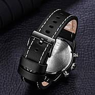 Мужские часы Naviforce 9144 с черным циферблатом, Чоловічий наручний годинник, фото 4