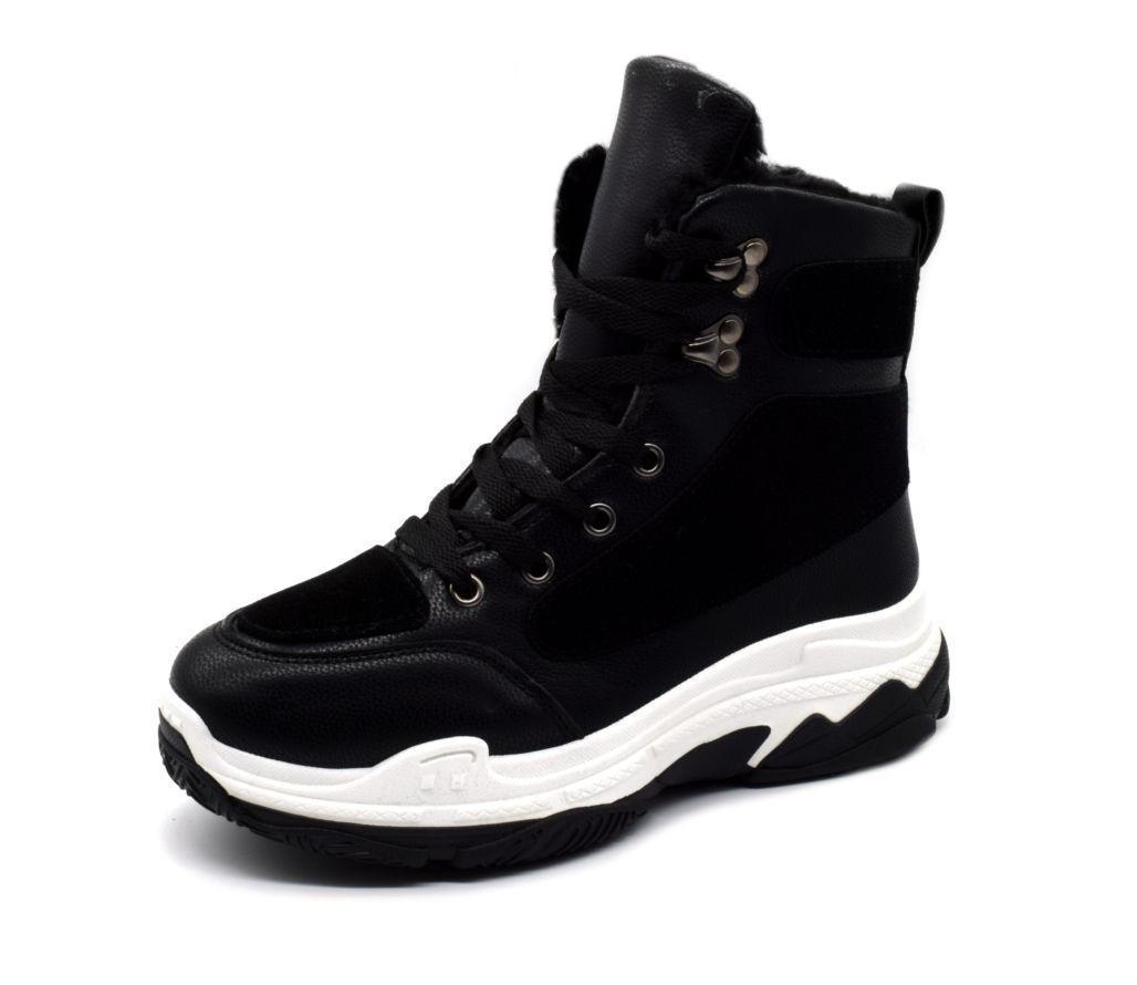 Ботинки черевики жіночі стильні зимові 38 розмір