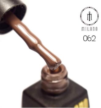 Гель лак milano №62, 8 мл