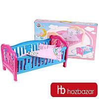 Кроватка для куклы TechnoK Toys 4494