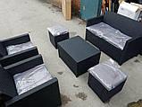 Набор садовой мебели Merano 6 Seater Set из искусственного ротанга ( Allibert by Keter ), фото 6